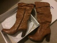 Real leather, size 5
