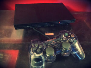 PS2 Playstation 2 With Games and Controller God of War