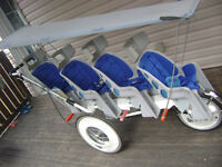 FS Runabout quad stroller for daycare or multiples **new parts**