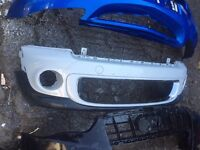 Bmw mini r56 cooper mini one genuine front bumper 2011 can post