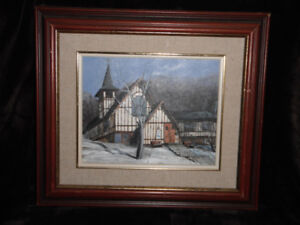 "Painting Of  ""St James The Less"" Renforth  N.B. by Donna McLean"