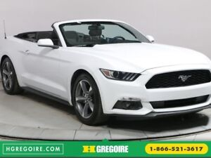 2017 Ford Mustang V6 AUTO CAM RECUL A/C BLUETOOTH MAGS