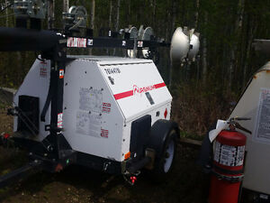 6kw magnum generator/light tower. 399 hours