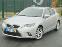 2015 (15) Lexus CT 200h 1.8 ( 136bhp ) CVT Advance + With Great Spec!