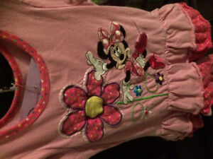 Disney Minnie Mouse outfit size 4