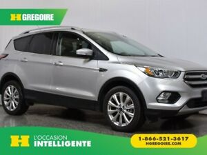 2017 Ford Escape Titanium AWD Cuir TOIT PANORAMIQUE