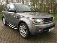 2010 LAND ROVER RANGE ROVER SPORT 3.0 TDV6 HSE COMMAND SHIFT 5 DR STATION WAG...