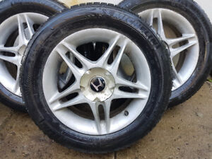 Honda Civic 185/65r15 Michelin Winter Tires