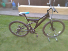 "Dual Suspension Mountain Bike (19"" Frame, 26"" Wheels, 21 Gears)"