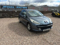 2007 57 PEUGEOT 207 1.4 SPORT 3DR ,ONLY 65000 MILES WARRANTED