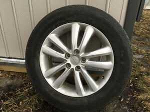 """18"""" rims and 235 60 18 tires"""