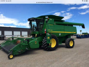 JOHN DEERE 9870 STS WITH 615 -CLEARANCE -REDUCED TO SELL