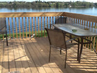 Cottage available in fishing resort