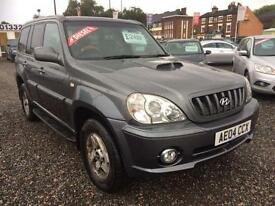 2004 HYUNDAI TERRACAN 2.9 CRTD 4 X 4 DIESEL LEATHER