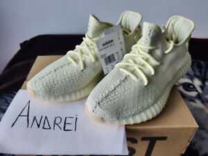 YEEZY Boost 350 V2 / Butter / Size 9 / DS
