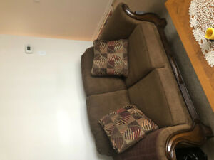 Sofa and love seat - barely used
