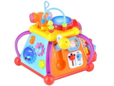 Musikwürfel Spielzenter Baby Spielwürfel interaktiver Würfel Rechenrahmen #2898