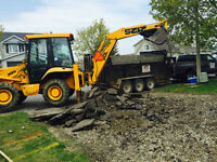 DRIVEWAYS, EXCAVATING, GRADING, & MORE....FREE QUOTES