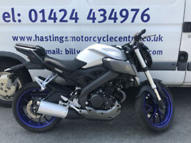 Yamaha MT125 ABS / Learner Legal Streetfighter / Nationwide Delivery / Finance