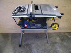 "Mastercraft 10"" Table Saw with Stand"