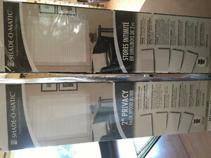 "2"" Shade-O-Matic Privacy Blinds"
