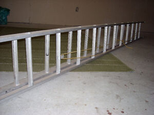 24 FOOT EXTENSION LADDER