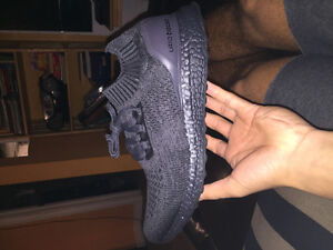 Mens Size 10 Triple Black Adidas Uncaged Ultra Boost