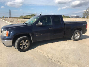 2010 GMC Sierra with professionally rebuilt engine.