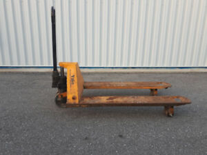 Pallet jack pump dolly - works great