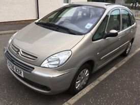 2006 CITROEN PICASSO EXCLUSIVE 1.6hdi, 82k,1 owner!
