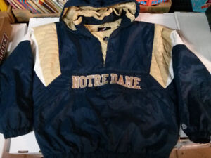 Majestic Notre Dame Fighting Irish Mens XL jacket$30
