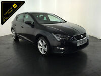 2014 64 SEAT LEON FR TECHNOLOGY TDI DIESEL 1 OWNER SERVICE HISTORY FINANCE PX
