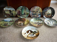 Complete Country Nostalgia Series Limited Edition Plates