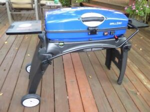 Portable Beautiful Blue Color Thermos Grill2Go Express For Outdo