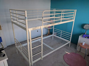 Sturdy metal IKEA bunk bed