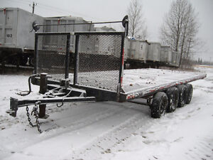 1984 – Artisan – 20′ flatbed trailer