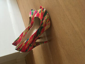 Unique funky high heels from Call it Spring!