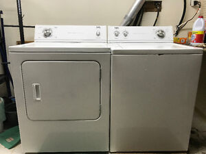 Inglis Washer/Dryer pair Purchaced 2011