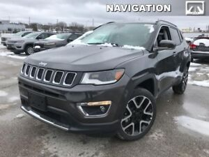 2018 Jeep Compass Limited 4x4  - Navigation - Power Liftgate - $