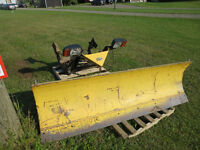 7.5ft Fisher Plow, hydraulic (snow plow)