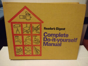 Readers Digest Complete Do It Yourself Manual by Readers Digest
