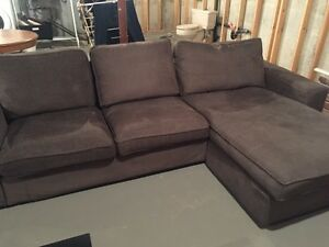 Hardly Used IKEA Kivik Loveseat & Chaise