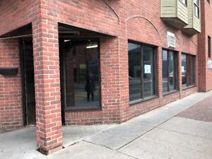 Bureau commercial à louer dans le centre ville de St-Hyacinthe