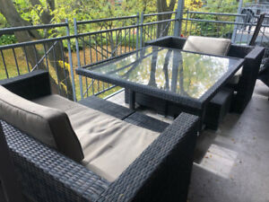 Outdoor dining and modular patio set for sale