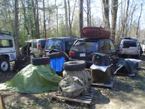 land rover pieces parts used usagé 1999-2008