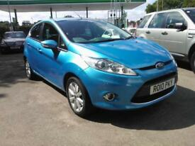 2010 Ford Fiesta 1.25 ( 82ps ) 2010.5MY Zetec
