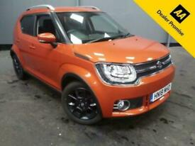 image for 2018 Suzuki Ignis 1.2 SZ5 DUALJET 5d 89 BHP IN ORANGE WITH 5707 MILES AND A FULL
