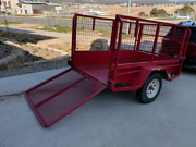 7x4 Trailer with cage Brindabella Tumut Area Preview