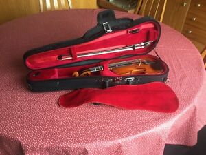 Eastman VL 80 violin size 1/10 violin,bow and case