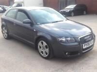 AUDI A3 SPORT 2.0 TDI 140BHP 3 DOOR,HPI CLEAR,CAMBELT CHANGE AT 95K MILES AUDI